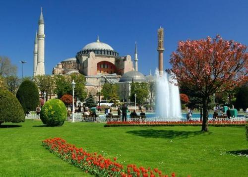 Istanbul, Turkey, Hagia Sofia