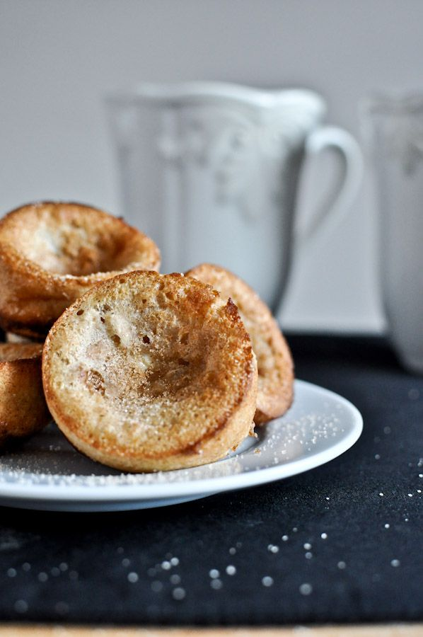 Mini Cinnamon Sugar Popovers | Recipes | Pinterest
