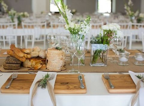 63 Creative And Cute Wedding Placemats For Every Style | HappyWedd.com · Rustic  TableWood TableRustic DecorDining ...