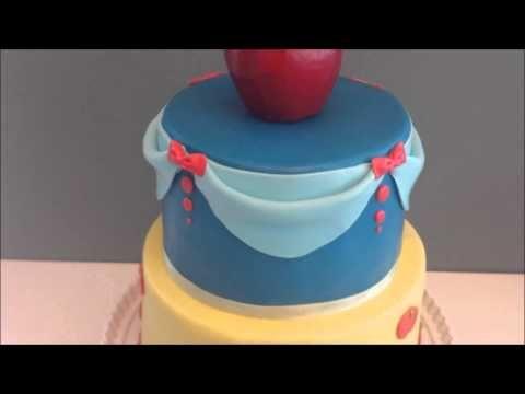 Snow white theme cake   Browny's Cakes
