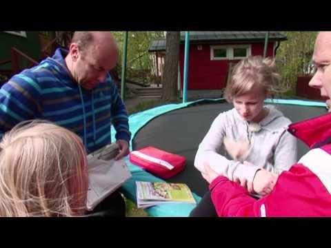 Tramppavamma, rannemurtuman ensiapu - YouTube