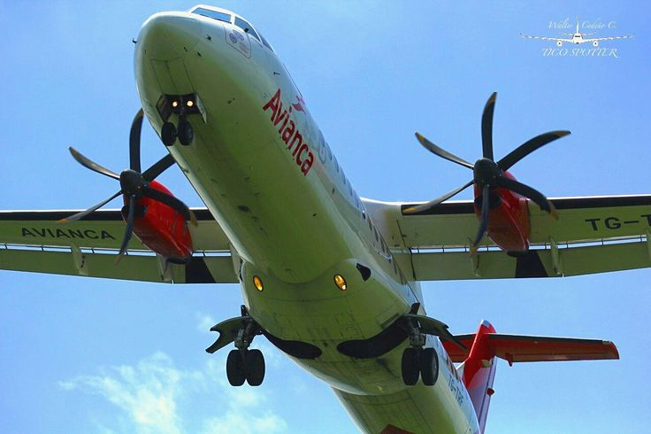 Avianca ATR 72 MROC Costa Rica