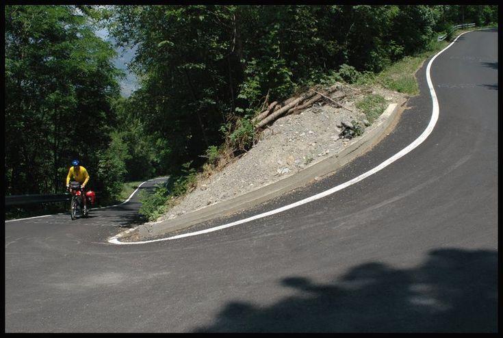 Passo del Mortirolo, Italy. 10.5% average gradient over 12 ...