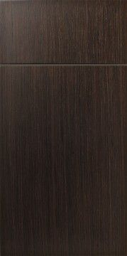 Signature Cabinet Kitchen & Bath: mdf & laminate slab dark oak 4028