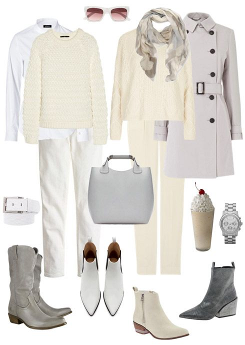 Ensemble: Winter Whiteout - YLF.  Great look for mild winter days in California.
