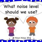 Most Popular Teaching Resources: Noise Level Posters - Freebie