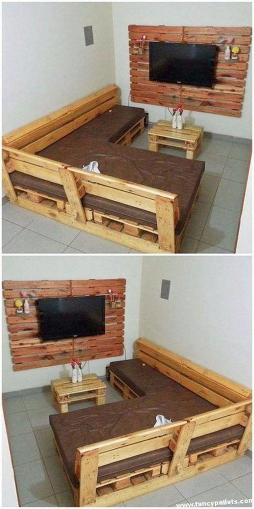 meubles de patio palette