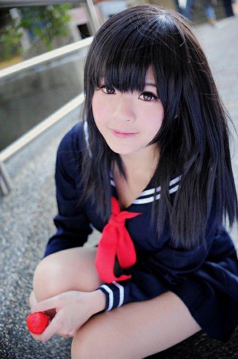 Toujo Aya cosplay - manga Ichigo100. Kawaii :3