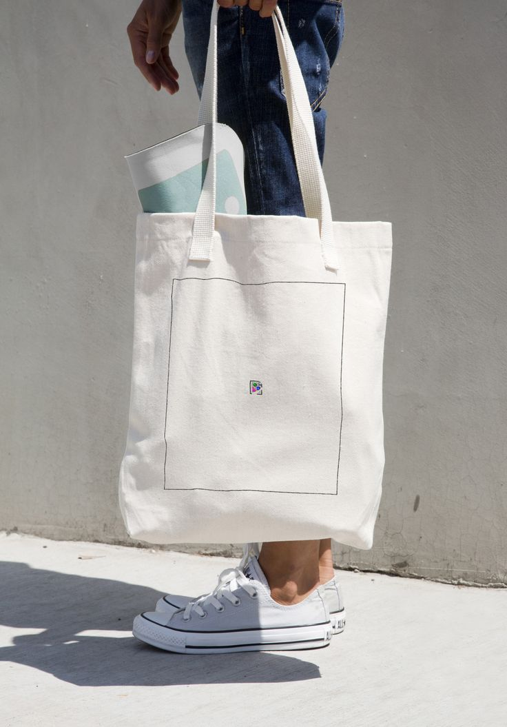 Broken Image Tote Bag