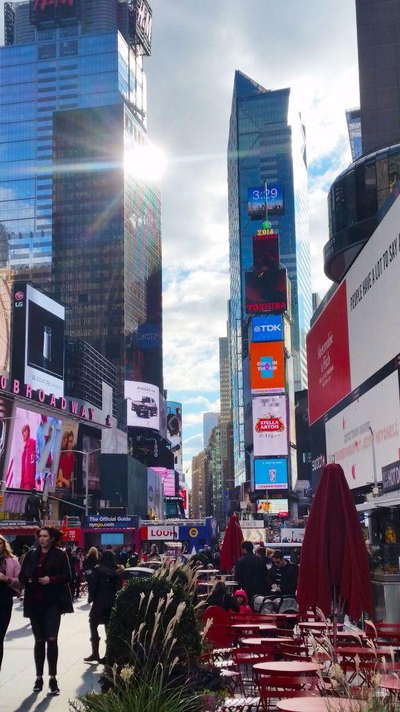 Savaistu que l'emblématique quartier de Times Square tire