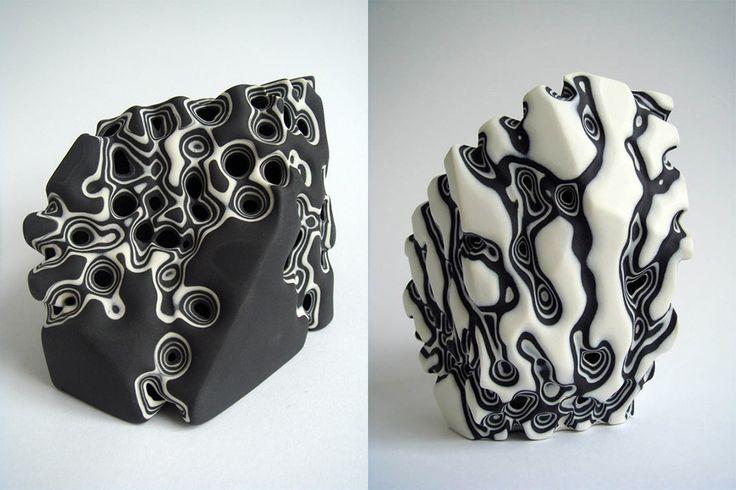 porcelaine érodé Tamsin van Essen