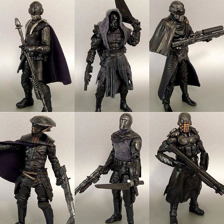Knights of Ren! Custom figures by @accustomfigures. Check out his page for more…