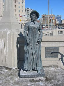 Laura Secord, Canadian heroine of the war of 1812.