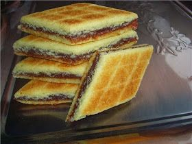 à la mode de chez nous: Брадж- алжирское печенье с финиками на сковороде.
