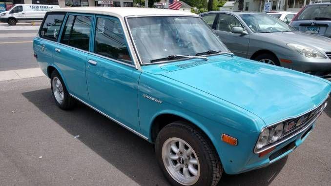 1971 4dr Wagon In Danbury Ct Wagon Datsun 510 Datsun