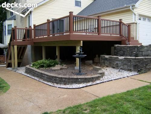 19 Best Images About Deck Ideas On Pinterest Two Level