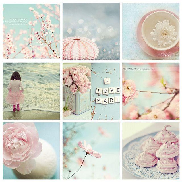 Moodboard roze