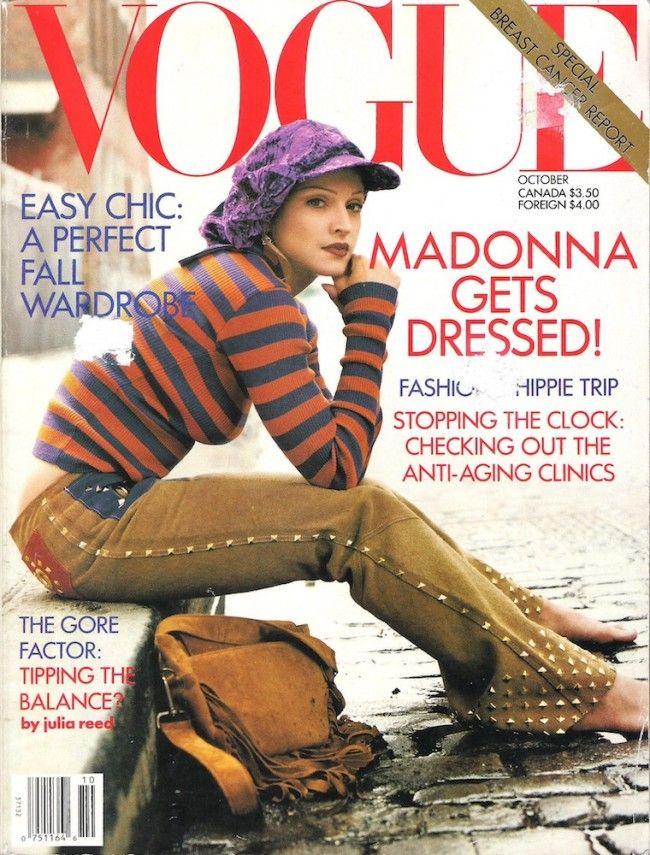 Madonna Magazine Covers PHOTOS   Madonna Birthday   Styleite