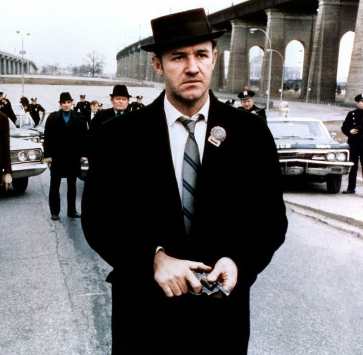 Best Actor 1972 - Gene Hackman as Jimmy Doyle in The French Connection   (Oscars/Academy Awards)