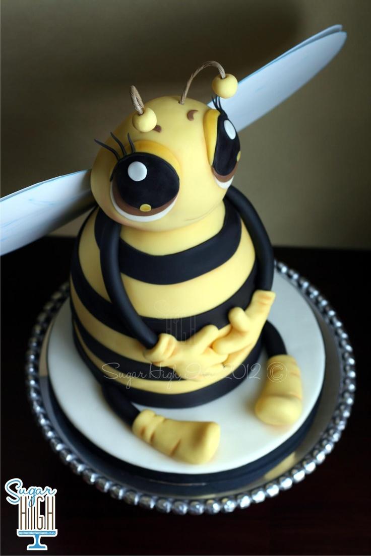 Amazing Bee cake by Sugar High.