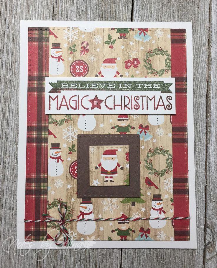 Merry Monday Christmas Card Challenge #266