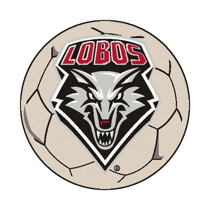Ncaa University of New Mexico Cream (Ivory) 2 ft. 3 in. x 2 ft. 3 in. Round Accent Rug