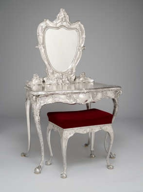 Gorham Silver Vanity... I've died and gone to heaven:)
