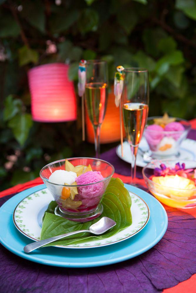 Dale un toque especial a tu mesa de jardín