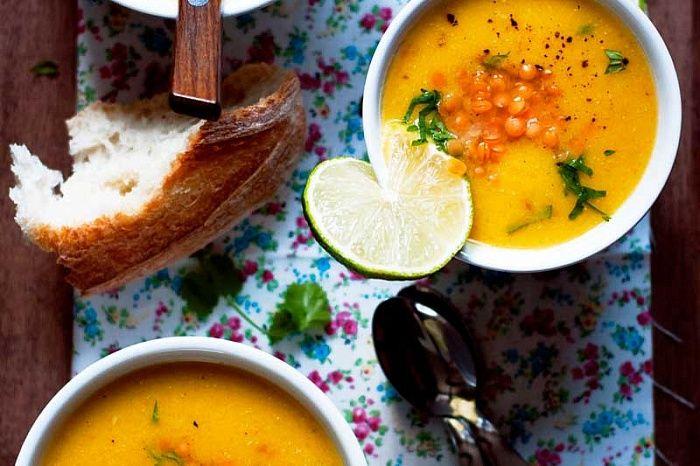 Чечевичный суп с сыром - пошаговый рецепт приготовления с фото
