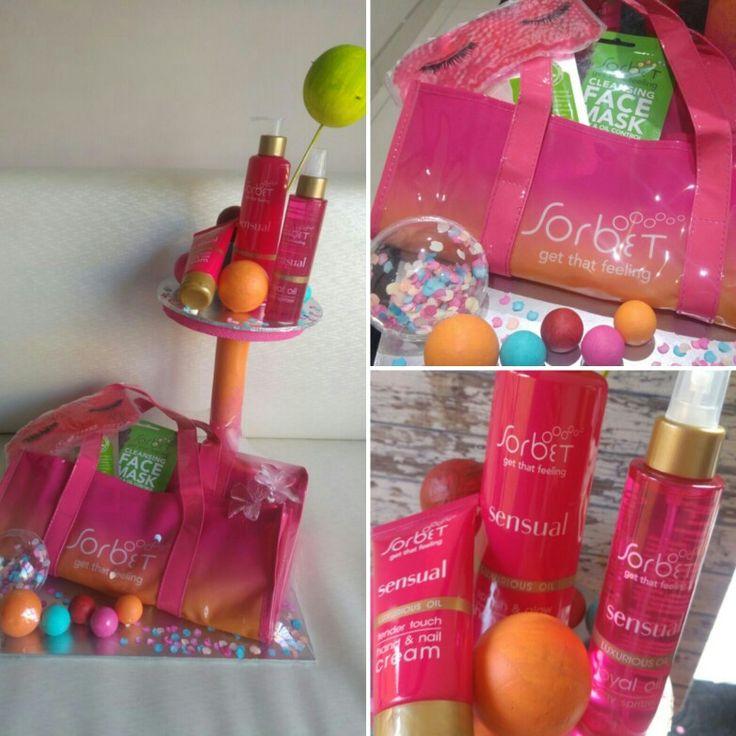 #sorbet #gift #parcel #bubbles #beauty #pamper #pamperessentials