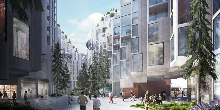 Gallery of BIG Designs Moshe Safdie-Inspired Habitat for Toronto - 3