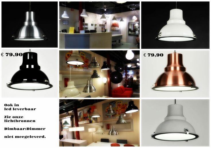 Klik op de webwinkel link : https://www.rietveldlicht.nl/artikel/hanglamp-70365-modern-eigentijds_klassiek-landelijk-rustiek-retro-industrie-look-wit-glans-metaal-rond  . stoere landelijke industriele hanglampen .  Heeft een diameter van 39 cm.  Trendy hanglampen gemaakt van aluminium, uitgevoerd in roodkoper zwart grijs wit en aluminium kleur. Voor woonkamer - slaapkamer - keuken - bedrijf - bar tafel