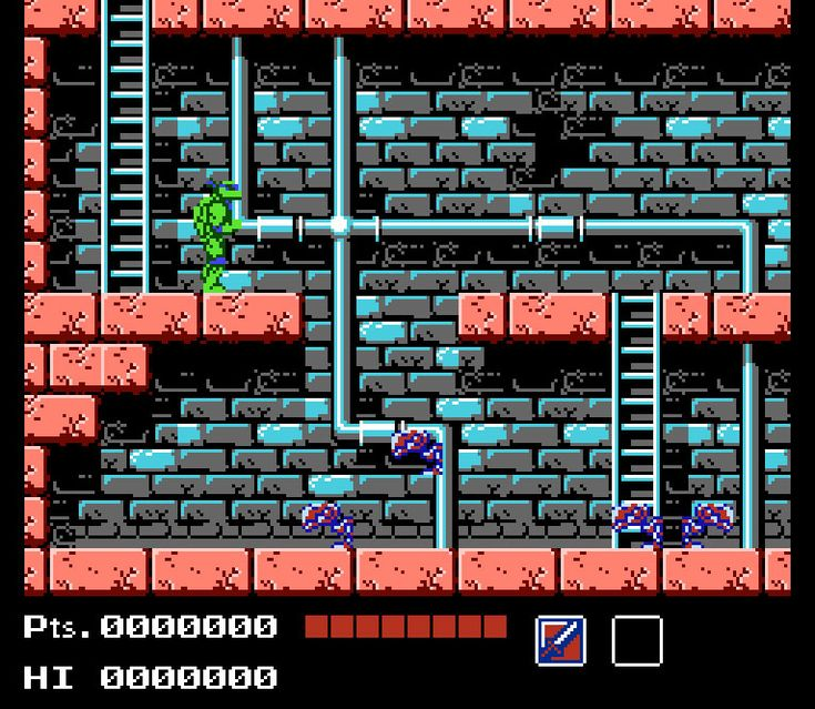 Tortues Ninja - NES.