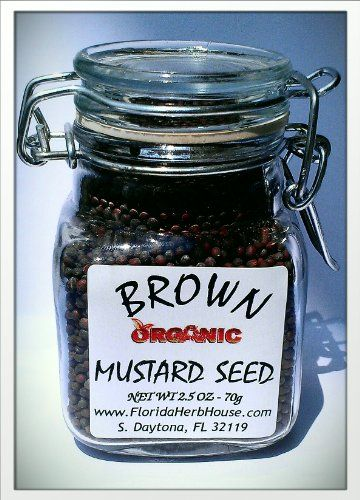 Brown Mustard Seeds 2.5 oz. (70g) - Organic Eco Friendly Gifts! - Eco-Spices! - http://spicegrinder.biz/brown-mustard-seeds-2-5-oz-70g-organic-eco-friendly-gifts-eco-spices/