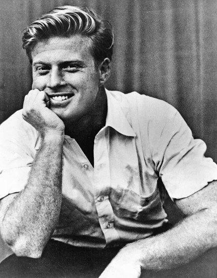 1962 最初広報ショット、ロバート ・ レッドフォード 2743  ヘアカタログ メンズ -有名俳優ロバート・レッドフォード