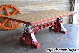 Промышленный стол