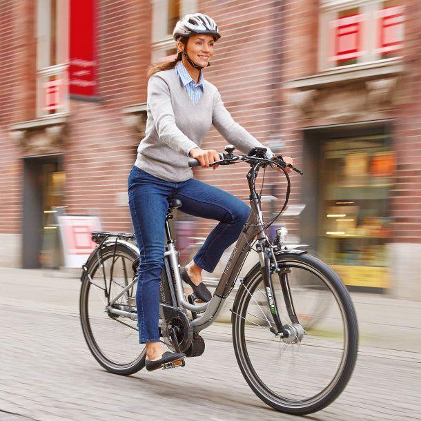 Aldi E-Bike 2015: Faktentest des Hansa Alu-City-Elektro-Fahrrad mit Mittelmotor - http://www.ebike-news.de/aldi-nord-ebike-2015-test-hansa/8727/