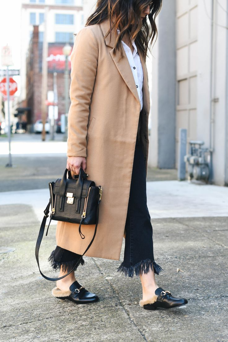 3.1 Phillip Lim mini pashli satchel, Steve Madden Jill loafers, Gucci fur loafers dupes