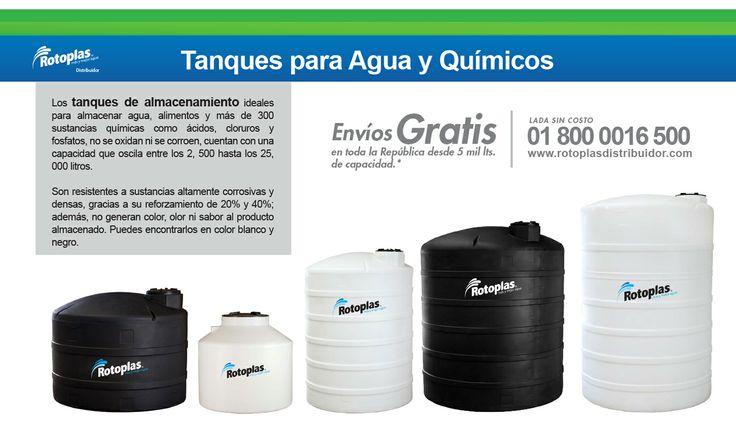 Tanques Reforzados #Tanques #Rotoplas #Almacenamientodeagua #Agua #Tanquesindustriales Lada sin costo 01 800 0016 500 http://www.rotoplasdistribuidor.com/productos/tanques-reforzados-rotoplas-para-quimicos