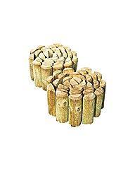 Log Roll Edging - Pack of 2