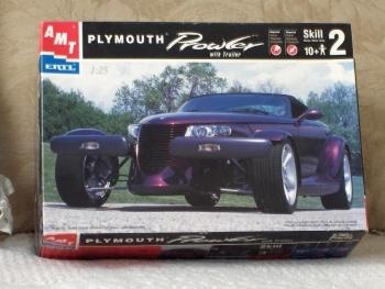 ERTL Plymouth Prowler Sports Car Model Kit Unbuilt 1998 $32.50