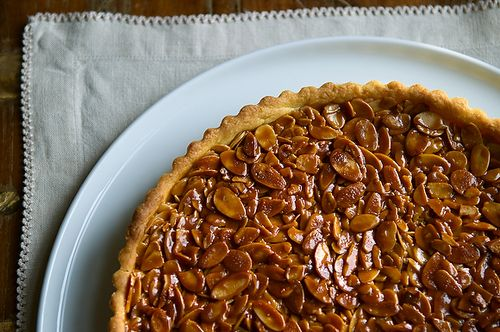 Divine Tangerine and Almond Shortbread Tart by Food52
