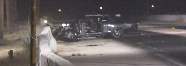 Street Outlaws reality star suffers serious concussion after his car slams into a wall and barrel rolls during a race