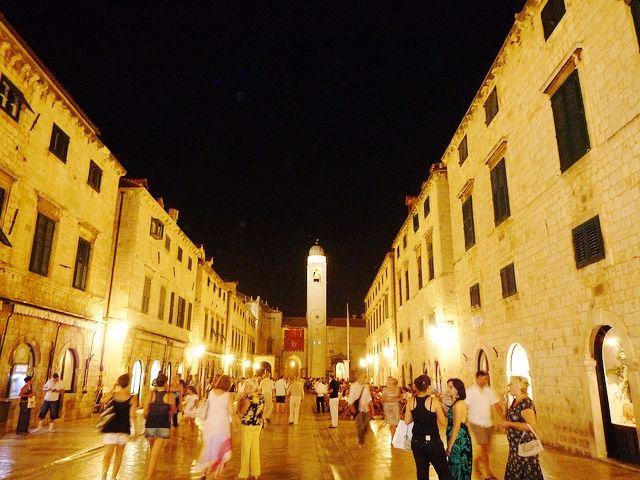 Dubrovnik city centre