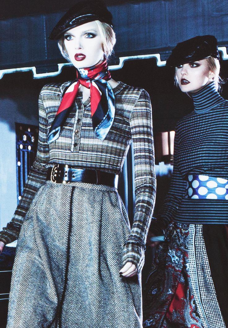 Lily Donaldson & Caroline Trentini/Dolce & Gabbana FW 08 by Steven Klein