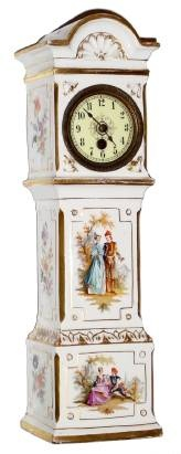 C.1890,German clock. Manufacturer: Hamburg American Clock Co (HAC)