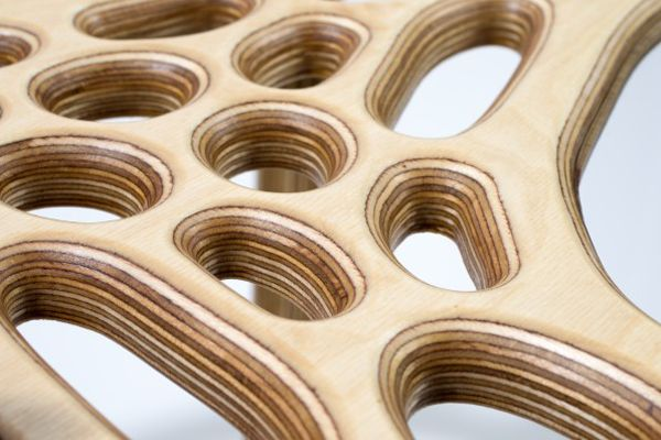 plywood Six Products That Wouldn't Exist Without CNC-Milling or 3D-Printing - Architect Magazine