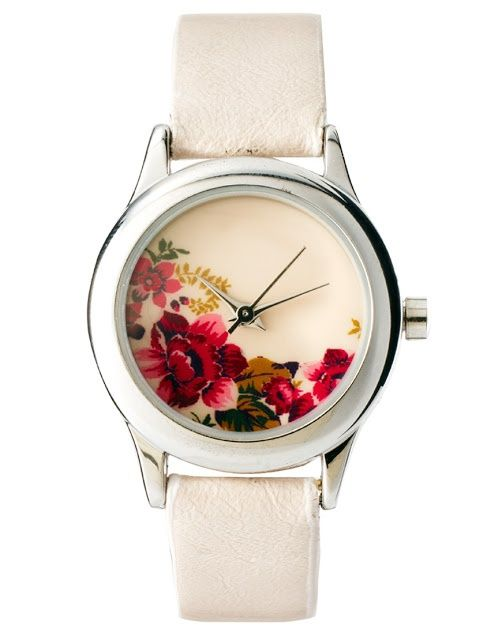 Asos flower watch, purely for decoration since I ...