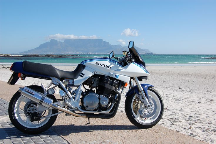 Tastefully built first generation Suzuki Katana Restomod.The greatest bike in the greatest city of Cape Town South Africa.