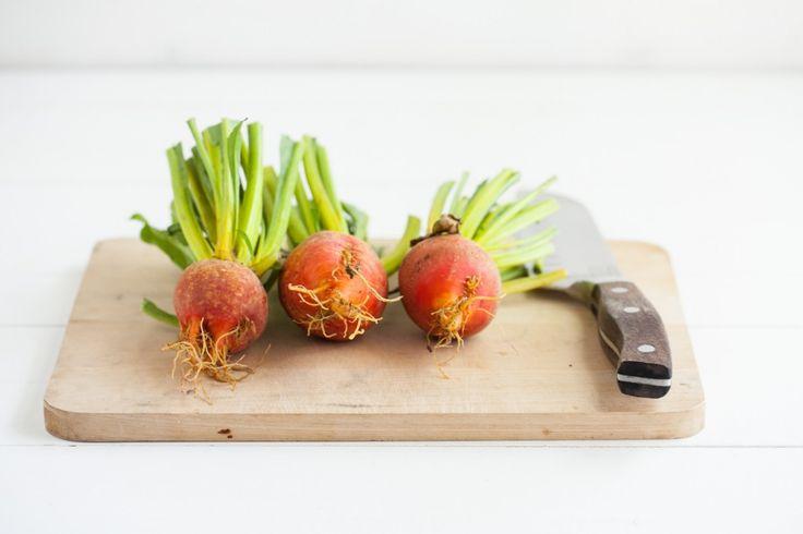 Grilled Beet and Hummus Stuffed Pita | Recipe